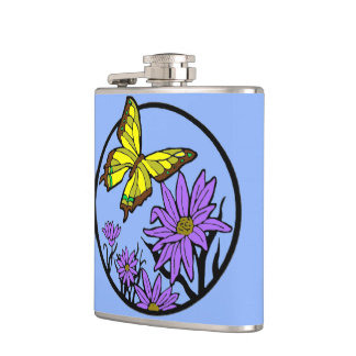 Purple Dance Flasks