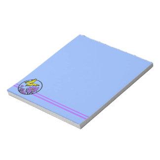 Purple Dance Notepad