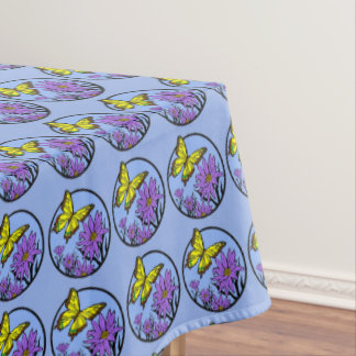 Purple Dance Tablecloth
