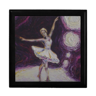 Purple Dancing Ballerina Gift Box