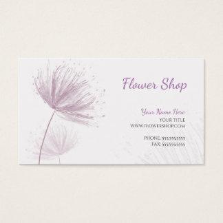 Purple Dandelion Business Card