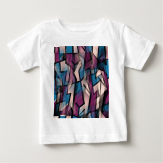 Purple decorative abstraction baby T-Shirt