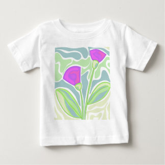 Purple decorative design baby T-Shirt