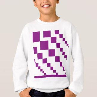 Purple Descending Diamonds Sweatshirt