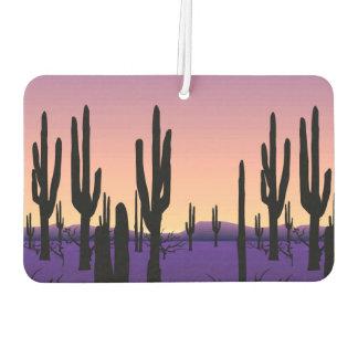Purple Desert Car Air Freshener