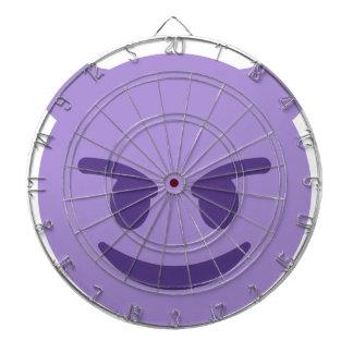 Purple Devil Emoji Dartboard