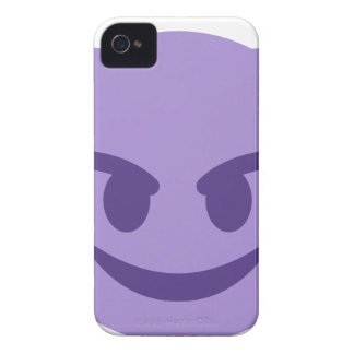 Purple Devil Emoji iPhone 4 Cases
