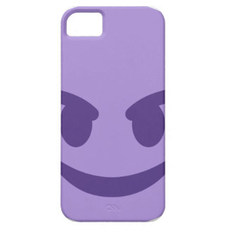 Purple Devil Emoji iPhone 5 Case