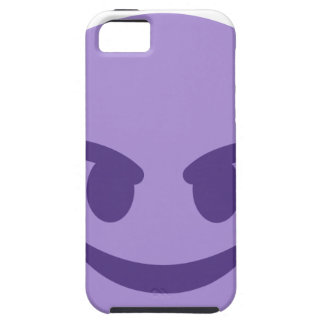 Purple Devil Emoji iPhone 5 Covers