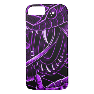 Purple Devil Serpent iPhone iPhone 7 Case