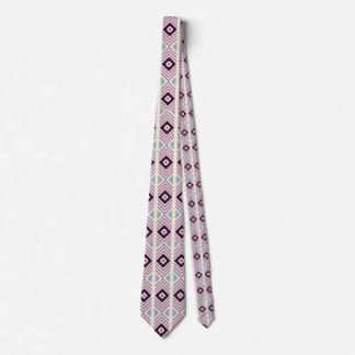 Purple Diamond Designer Men's Tie