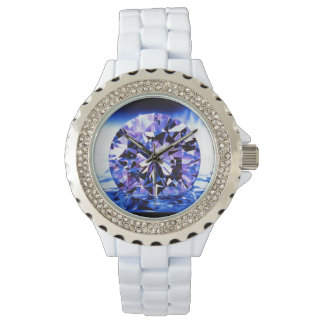 Purple Diamond Lady's Watch
