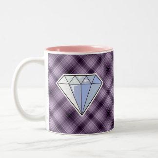 Purple Diamond Coffee Mug