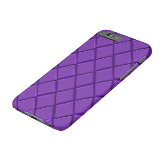 Purple Diamond print Barely There iPhone 6 Case