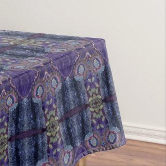 purple diamond tablecloth