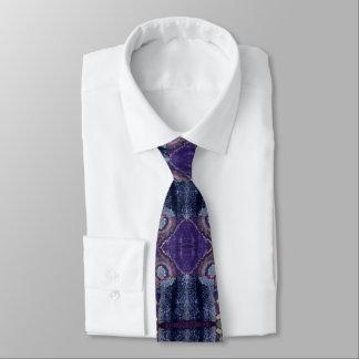 purple diamond tie