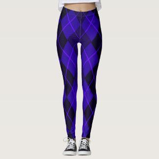 Purple-Diamonds_Argyle_Street-Ware-Classic Leggings