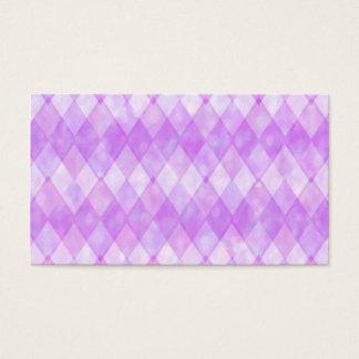 Purple Diamonds Business Card