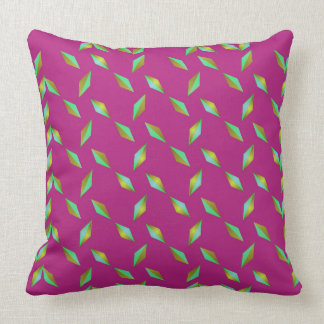 Purple Diamonds Pillow