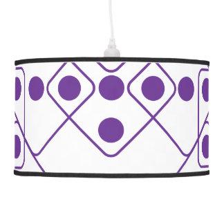 Purple Dice Pendant Lamp