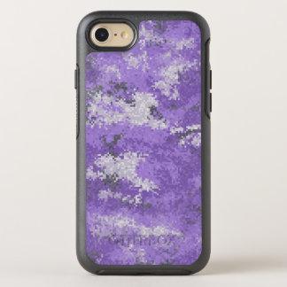 Purple Digi Camo OtterBox Symmetry iPhone 8/7 Case