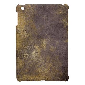 Purple Distressed Gold Texture Laptop Case iPad Mini Case