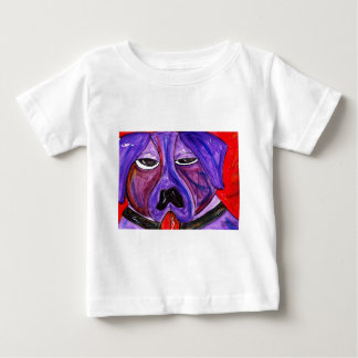 Purple Dog Baby T-Shirt