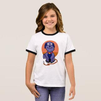 Purple dog ringer T-Shirt