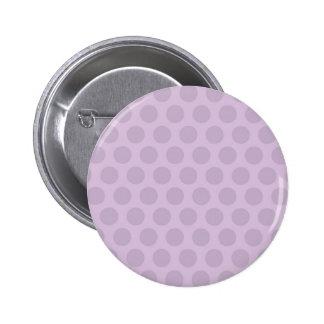 Purple Dots Pinback Button