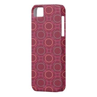 purple dots iPhone 5 case