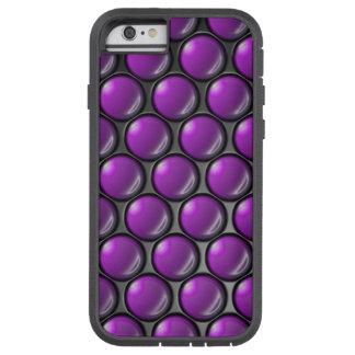 Purple Dots Tough Xtreme iPhone 6 Case