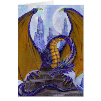 purple dragon card