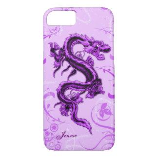 Purple Dragon Custom iPhone 7 Case