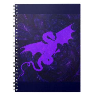 Purple Dragon Note Book