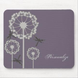 Purple Dragonflies Mousepad