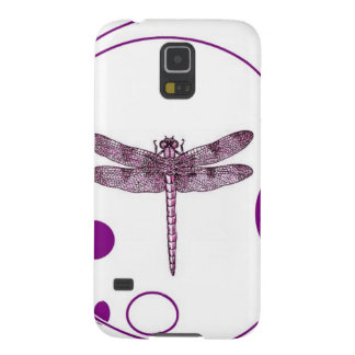 Purple Dragonfly Contemporary Design by Sharles Galaxy S5 Case