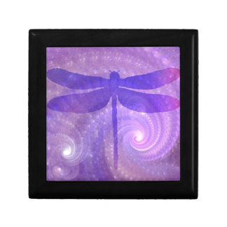 Purple Dragonfly Gift Box