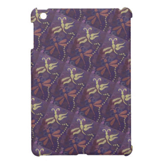 purple dragonfly i-pad mini case cover for the iPad mini