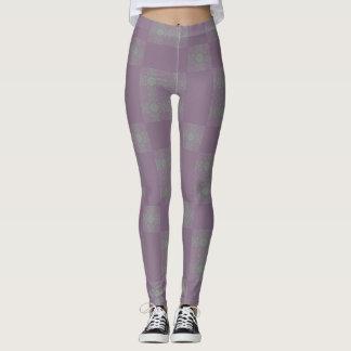 Purple Dreadlocks  Leggings
