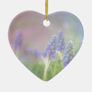 Purple Dream Ceramic Heart Ornament