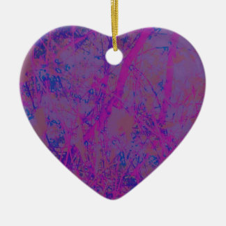 Purple Dream Fantasy Ceramic Ornament