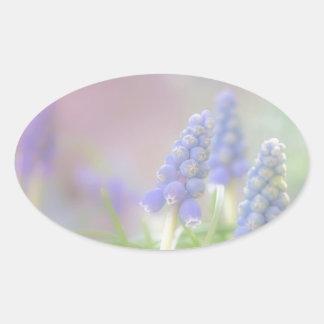 Purple Dream Oval Sticker