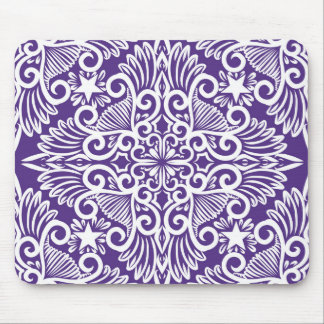 Purple Dream root Mouse Pad