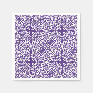Purple Dream root Paper Napkin