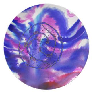 Purple Dreamcatcher Party Plate