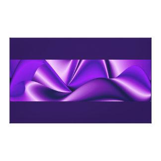 Purple Dreams, Abstract Fantasy Rainbow Art Canvas Print