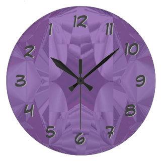 Purple Dreams-Backward Clock for Unusual People