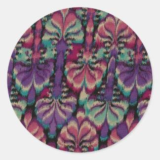 Purple, Dusty Rose & Green Stickers