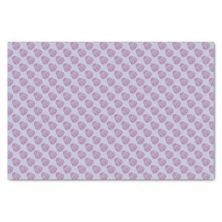 Purple Easter Egg with Pink Dots Tissue Paper