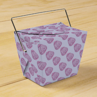 Purple Easter Egg with Pink Dots Wedding Favor Box